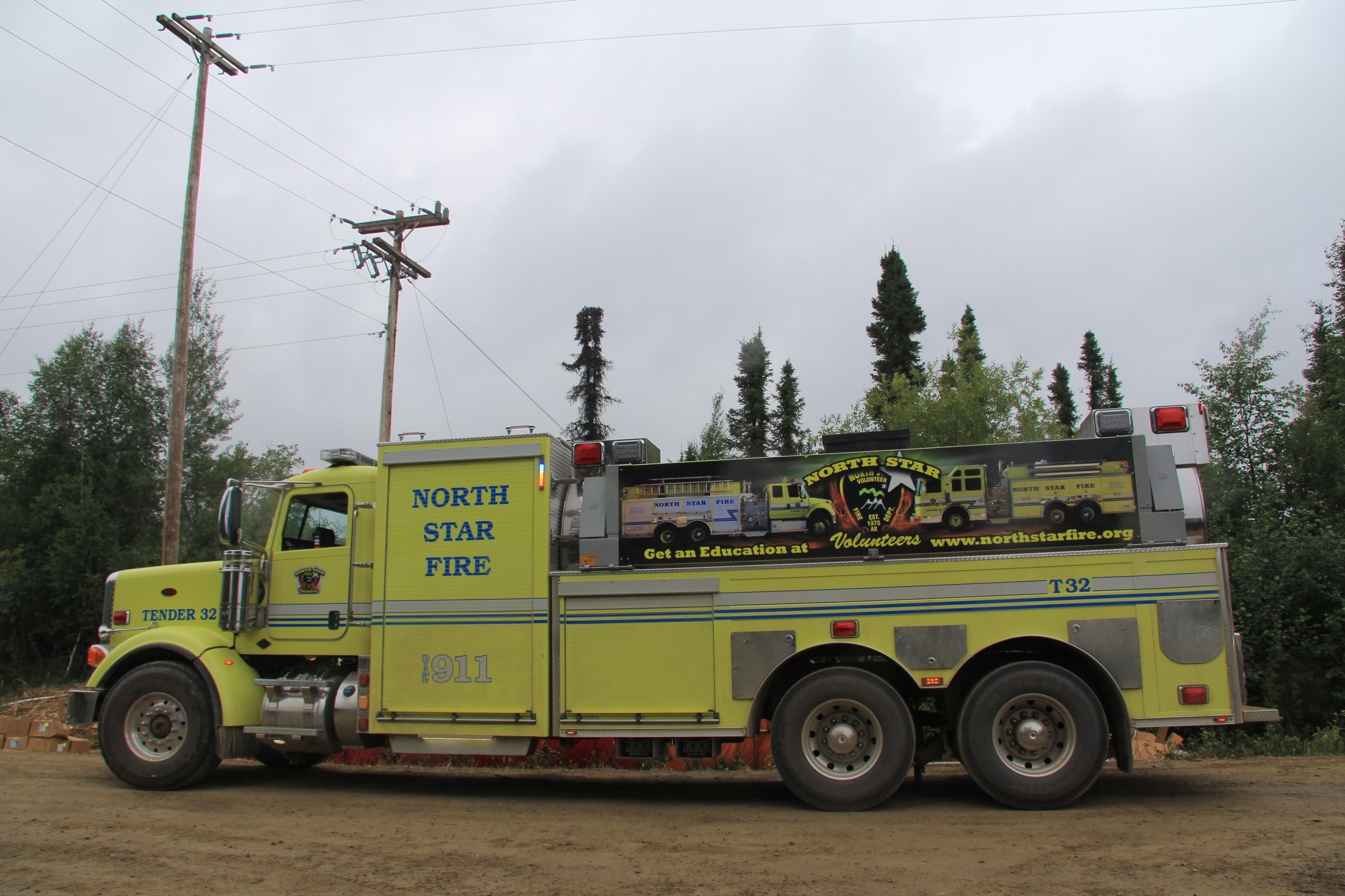 North Star Water Tender - InciWeb the Incident Information