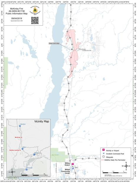 McKinley Fire PIO Map 090419