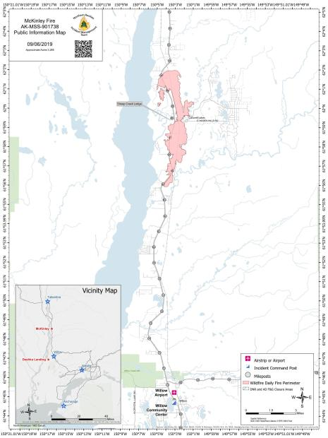 McKinley Fire PIO Map 090619