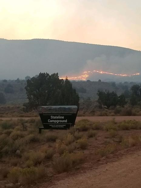 Please avoid House Rock Valley Road (BLM 1065)
