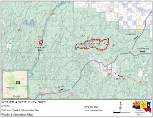 Wyrick and West Chev Fire Map
