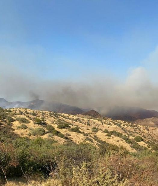 Habanero Fire looking to East