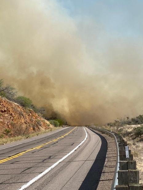 Copper Canyon Fire over US 60