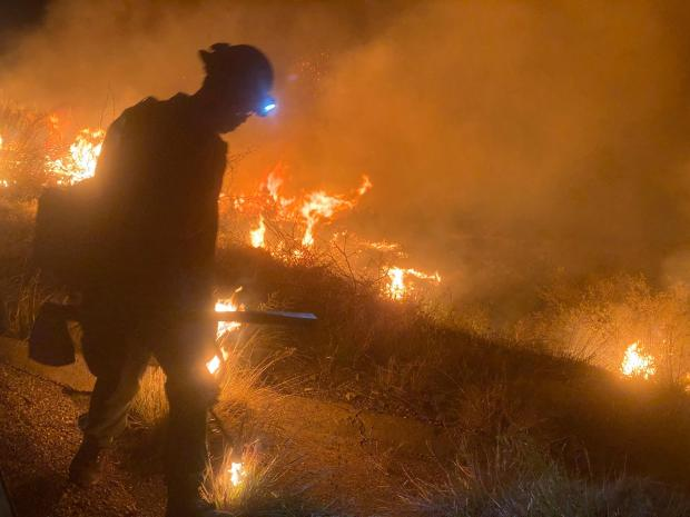 Overnight Firing Ops Courtesy Tonto NF
