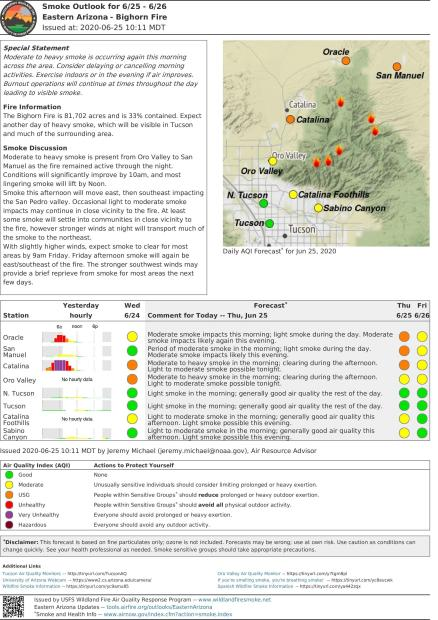 smoke outlook gets worse in coming days