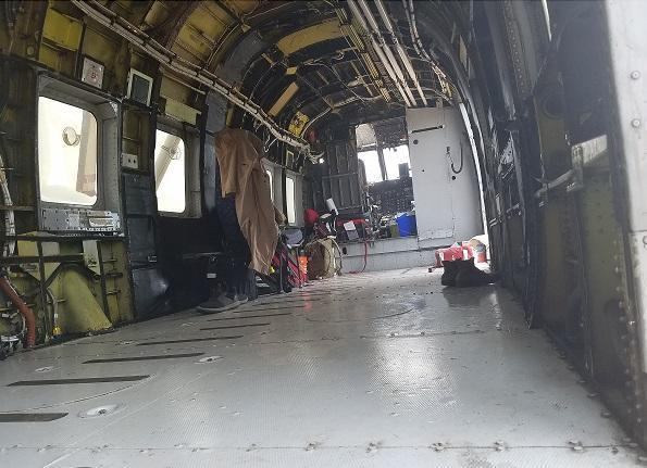 helicopter interior