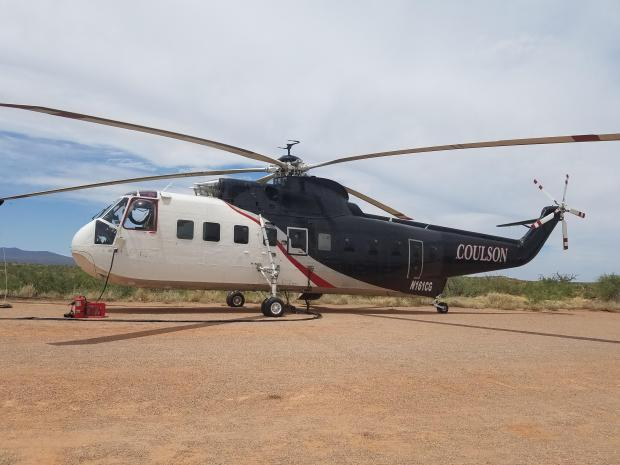 sikorsky s61 helicopter