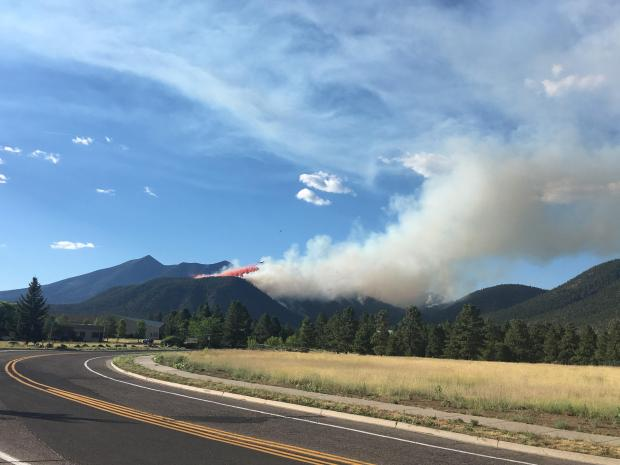 Museum Fire north of Flagstaff