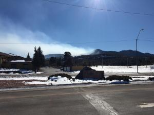 Smoke As Seen from City of Williams