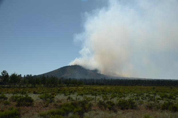 View of Boulin Fire Looking West
