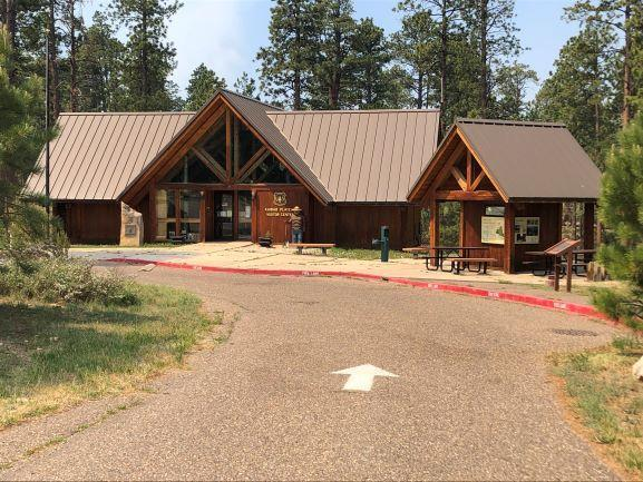 A photo of Forest SErvice Visitor Center next to Jacob Lake Inn