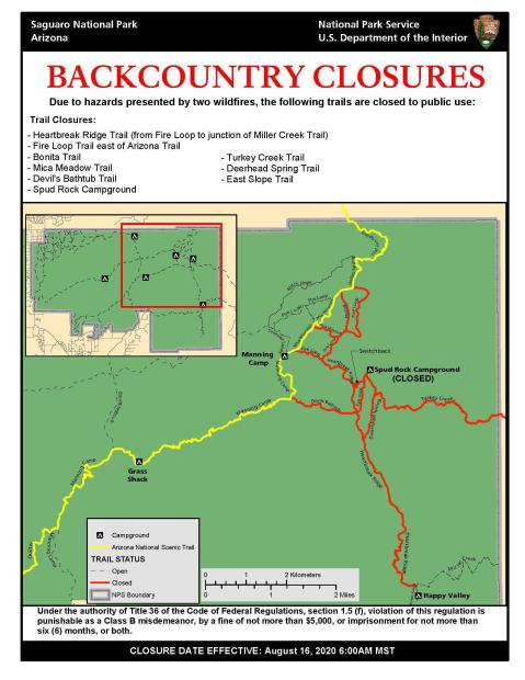 Aug 16 Backcountry Closures Map