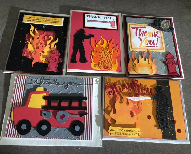 Thank You Notes for Firefighters