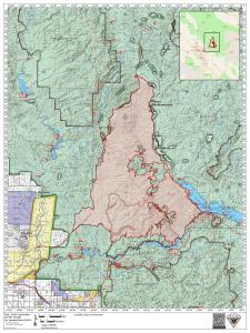 Bush Fire Public Info Map - June 29, 2020