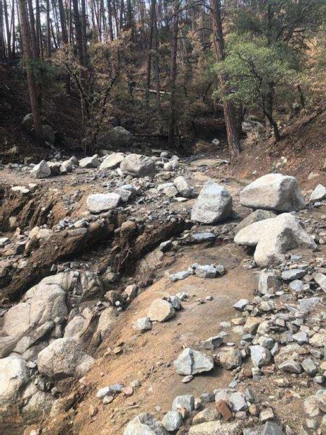 Pioneer Pass -(FS112)  road washed out