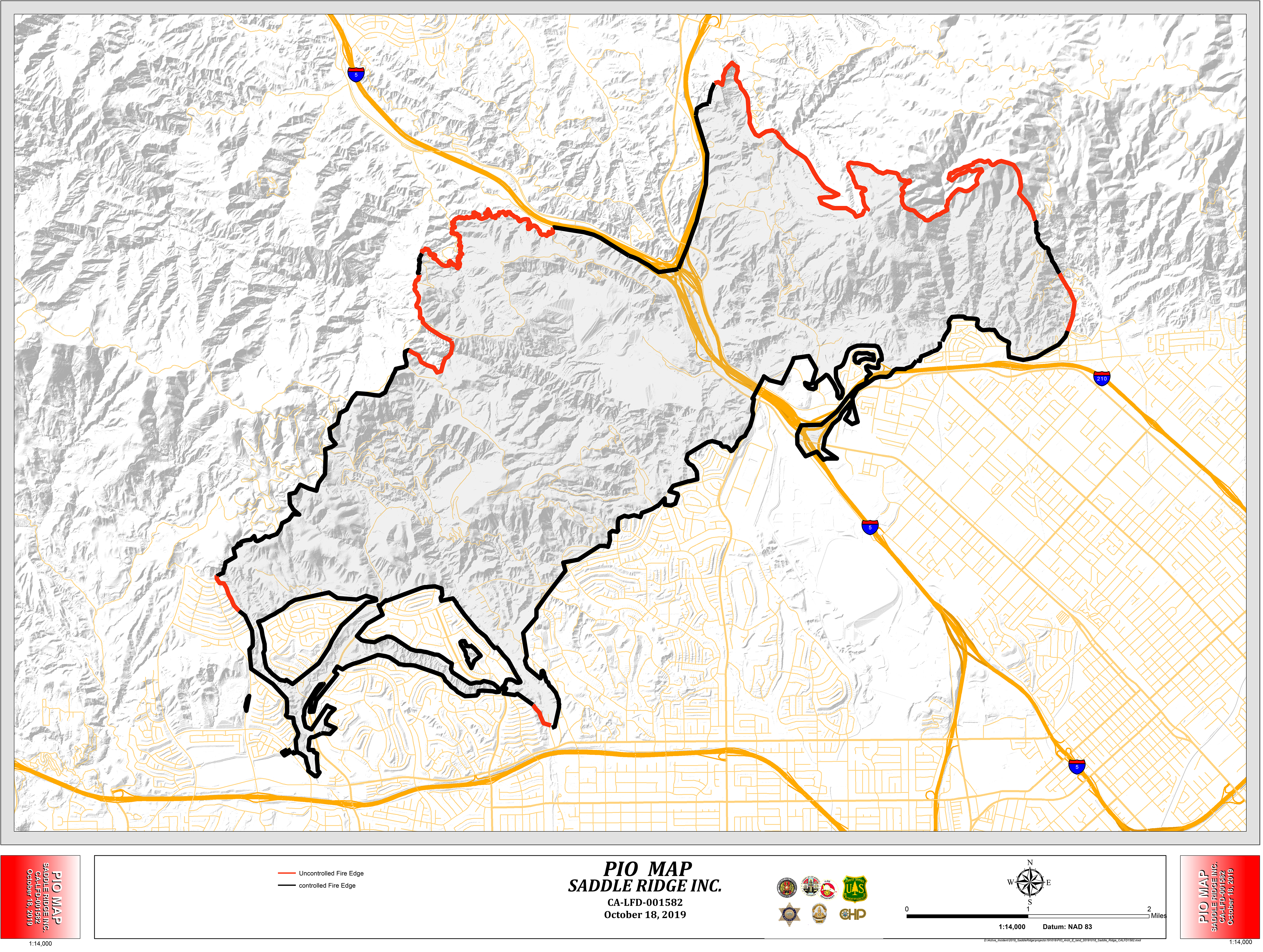 Saddleridge Fire Wildfire And Smoke Map Rgj Com