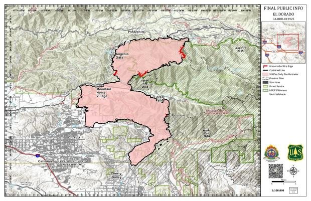 Public Information / Fire Perimeter Map for September 28th, 2020