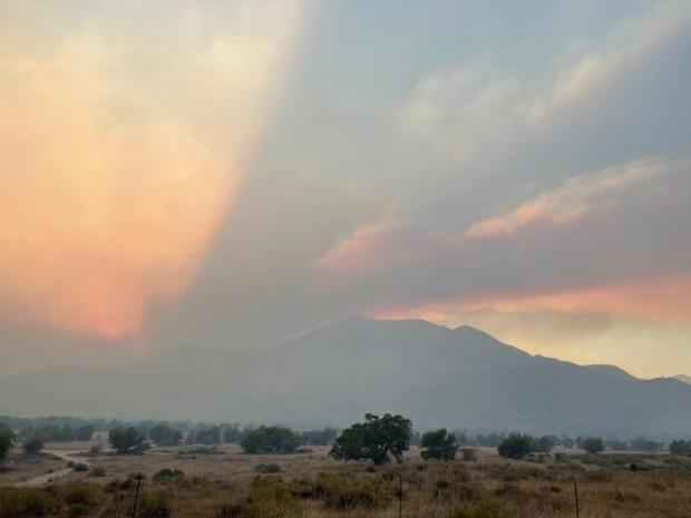 Evening on the French Fire