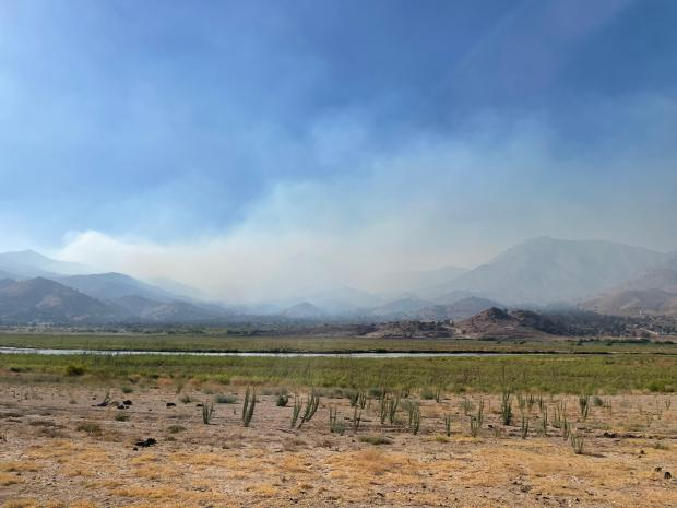 Photo of the French Fire smoke on 9_3_2021