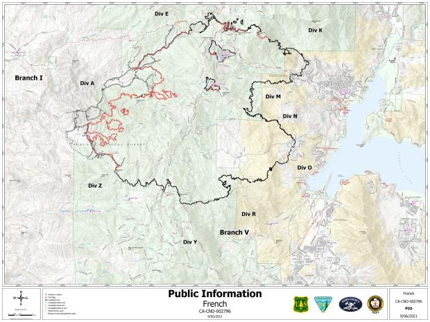 9_6_2021 PIO Map French Fire