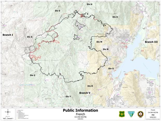 9_8_2021 PIO Map French Fire