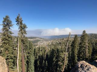 Photo View from Maiden's grave on Highway 88 101119