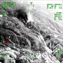 Video from over flight of Caldor Fire area on Sunday.