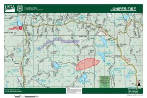 Map of fire July 9, no change since