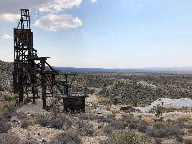 Evening Star Mine remains intact