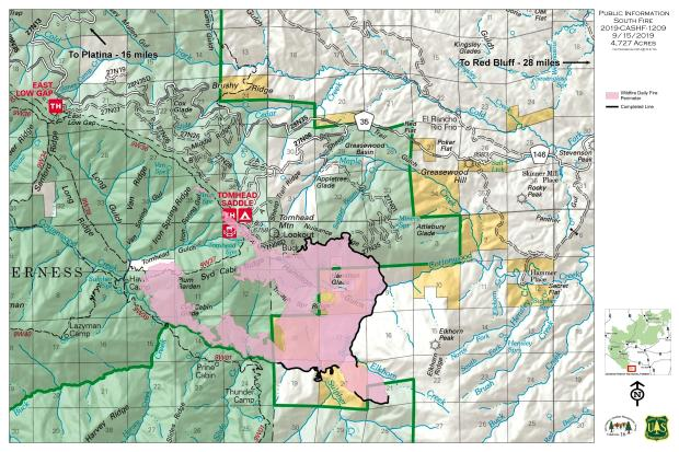 South Fire PIO Map 09-15-19