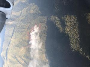 Air Attack Photo of the Bald Fire July 28, 2020