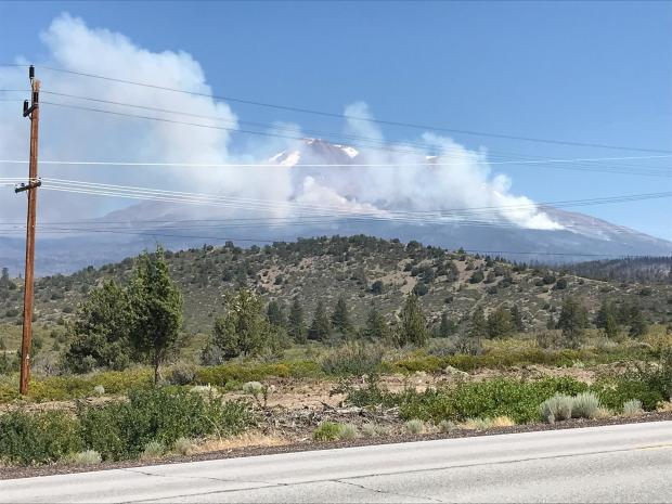 July 6 Afternoon fire behavior increases