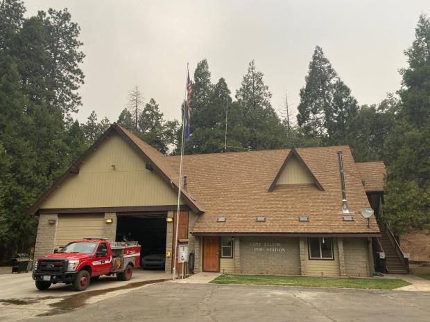 camp nelson fire station