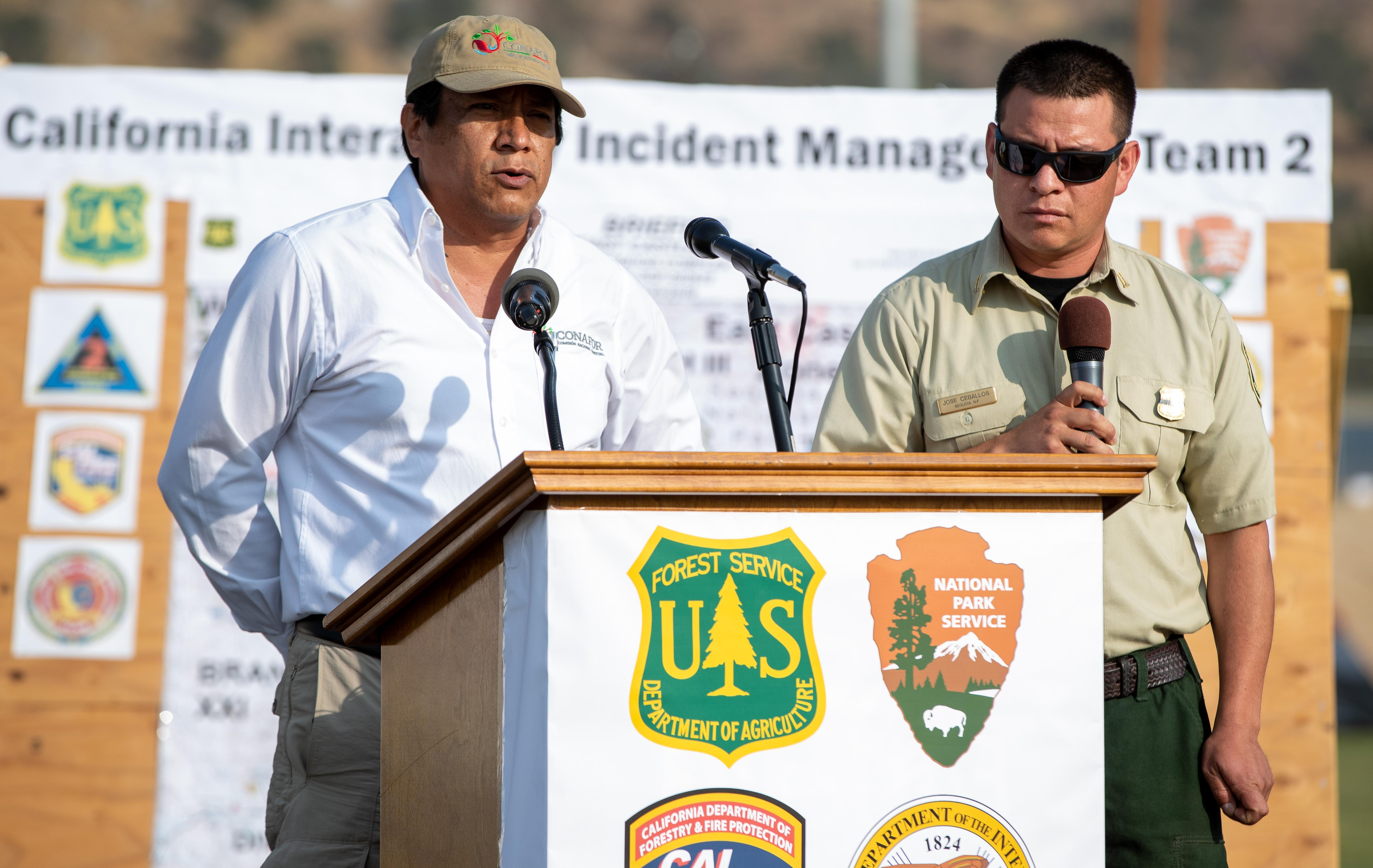 Ramon Silva Flores, Deputy Chief of Conservation and Restoration for CONAFOR