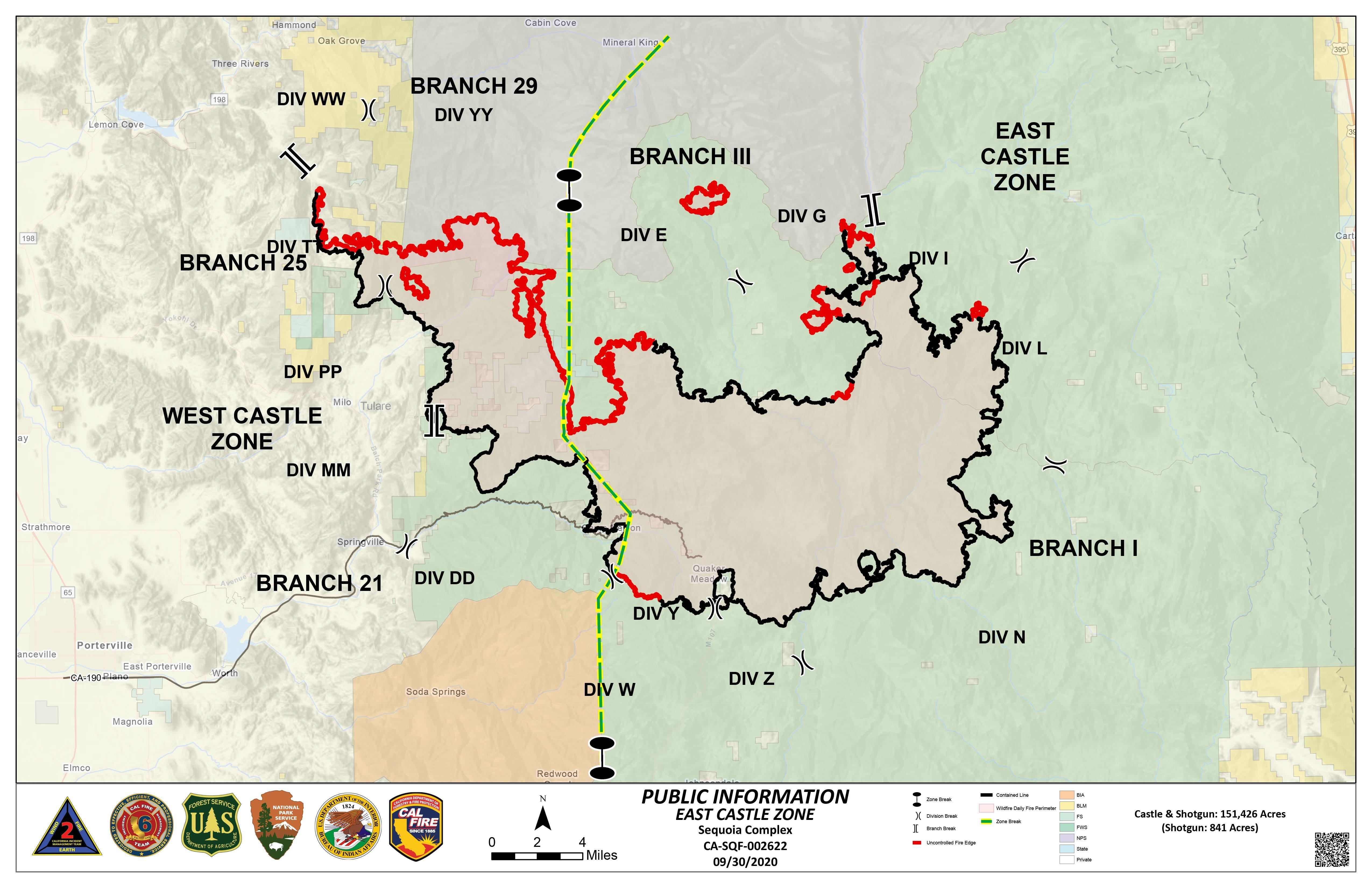 Map of the SQF Fire for Sept. 30