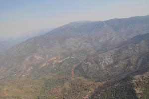 Image showing Middle Fork Tule River-Camp Nelson Area in SQF Complex