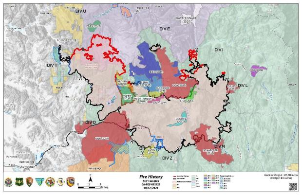JPG Image showing SQF Area Fire History Map