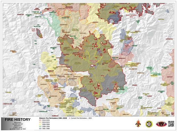 Image of the Fire History Map for 09.20.21