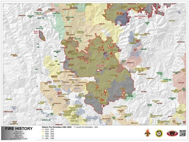 Image of the Fire History Map for 09.21.21