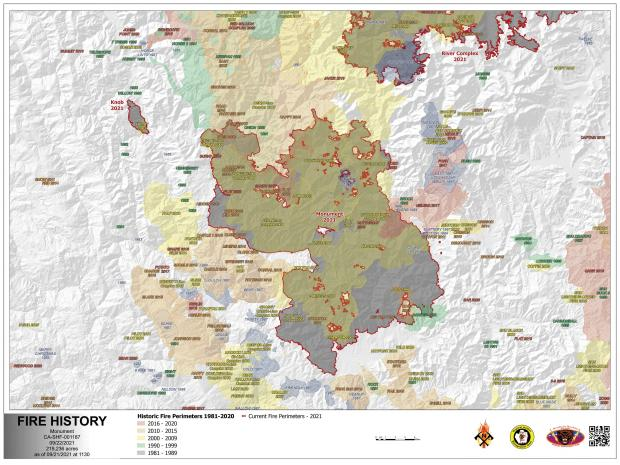 Image of the Fire History Map for 09.22.21