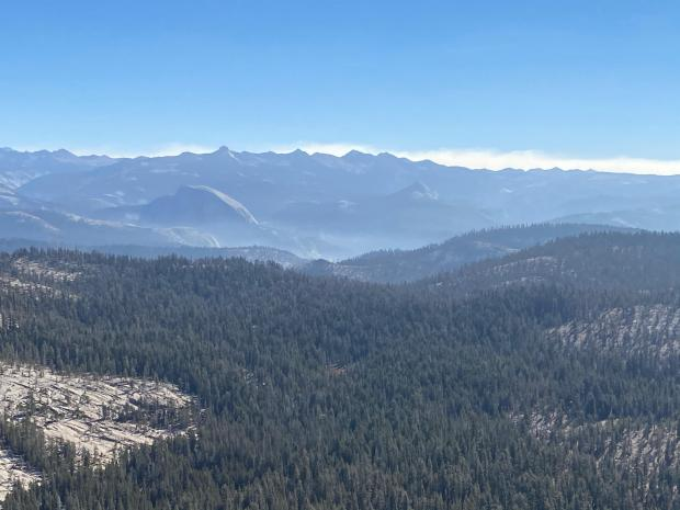 Blue Jay Fire Half Dome 10.22.2020