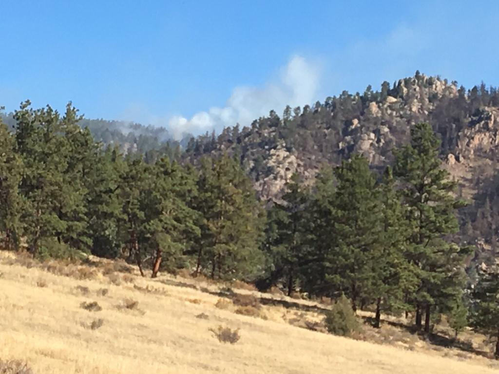 Photo of Prescribed burn from Sept. 12