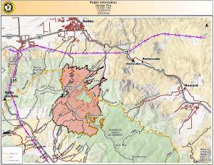 Decker Fire Map 10-29-19