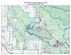 Routt National Forest Closure, Oct. 14, 2021