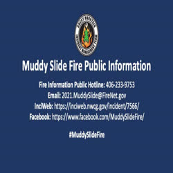 The video is an overview of select helicopters used on the Muddy Slide fire.