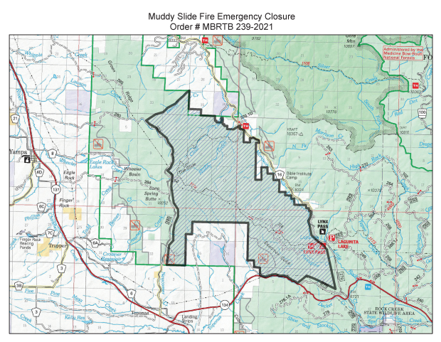 Routt National Forest Closure, Aug. 27, 2021