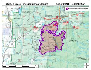 Routt National Forest Closure, Oct. 15, 2021