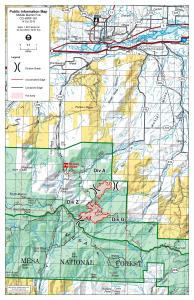 Middle Mamm Fire Perimeter Map - October 14