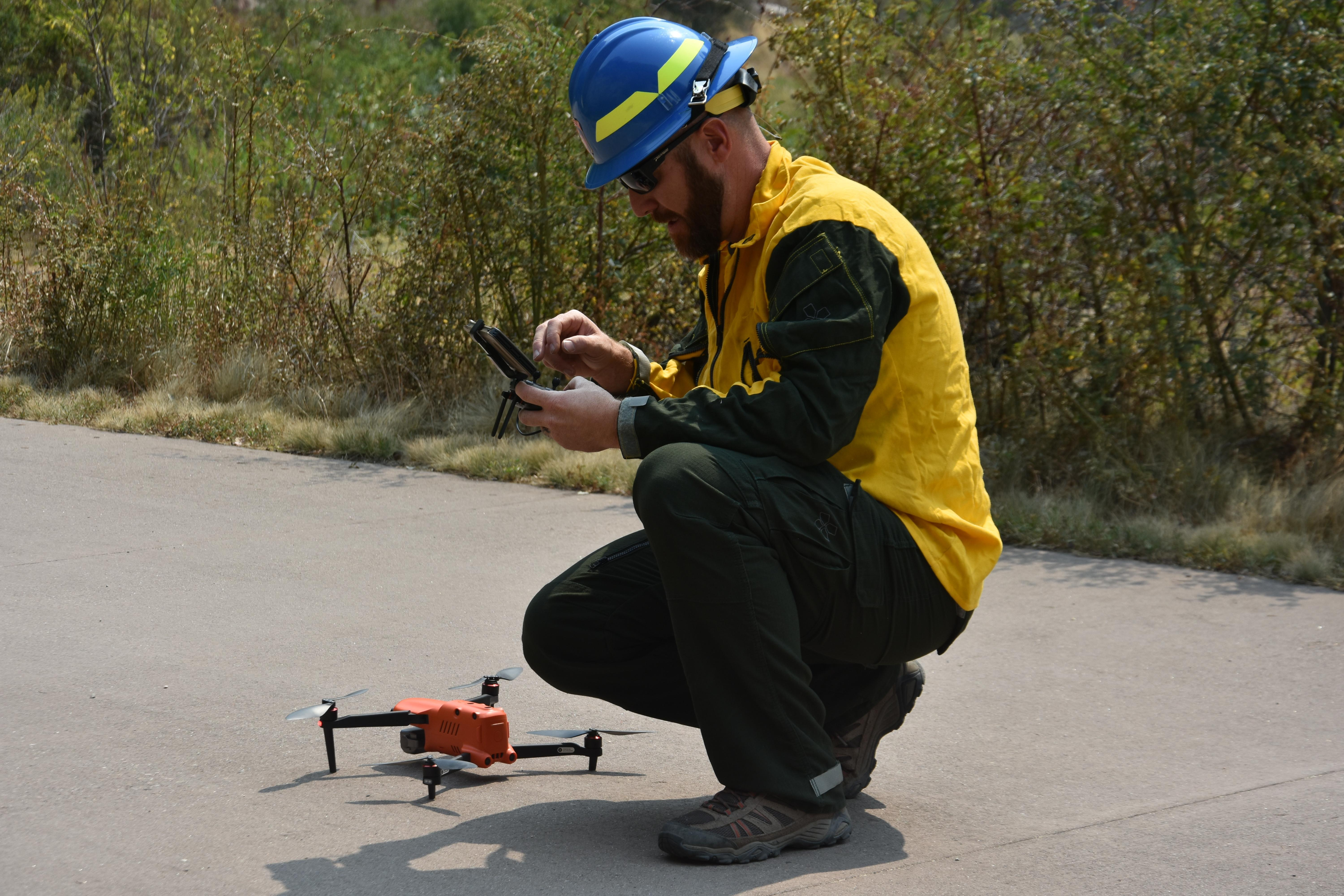 Grizzly Creek Fire CO State Center of Excellence for Advanced Technology  Drone and UAS Pilot