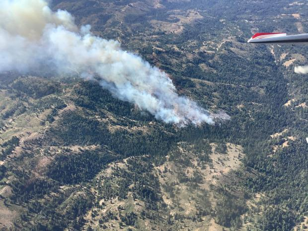 9-7-2020 -  Grouse Fire - Aerial View 2